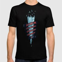 Warming Hoax Mens Fitted Tee Black SMALL
