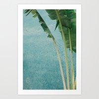 summer greens Art Print