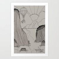 Music Range Art Print