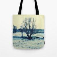 Winter  - JUSTART © Tote Bag