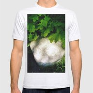 Glow In Nature Mens Fitted Tee Ash Grey SMALL