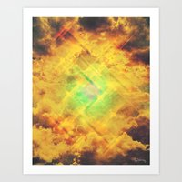 Its In The Clouds Art Print