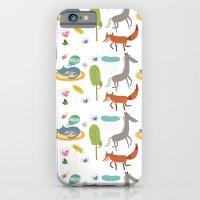 Happy animals iPhone 6 Slim Case