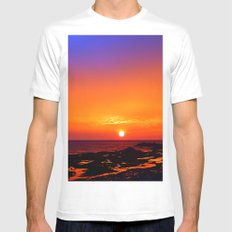 Unbelievable Sunrise Mens Fitted Tee SMALL White