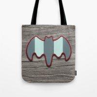 Arctic Bat Tote Bag