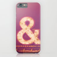 Neon Ampersand iPhone 6 Slim Case