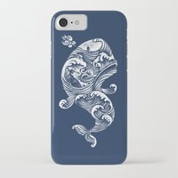 whale iPhone & iPod Cases featuring The White Whale  by Peter Kramar