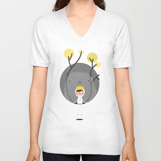 Where are the wild things? V-neck T-shirt