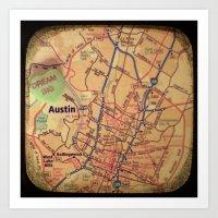 Dream Big Austin Art Print