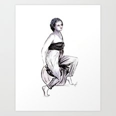 Gypsy Lover Art Print
