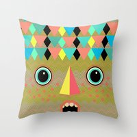waxxy Throw Pillow