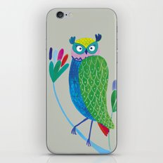 owl2 iPhone & iPod Skin