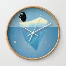 FISHER OF STARS Wall Clock