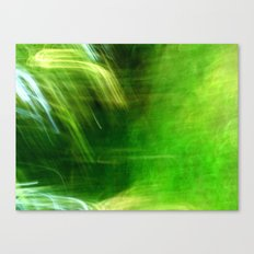 Green Grass Tunnel Canvas Print