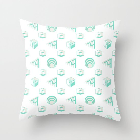 Grand Illusions Throw Pillow