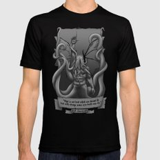 Call of Cthulhu SMALL Black Mens Fitted Tee
