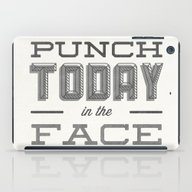 iPad Case featuring Punch Today In The Face by Zeke Tucker