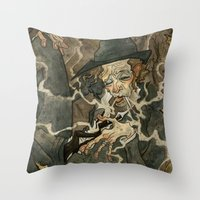 Waits Throw Pillow