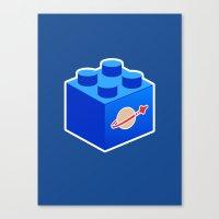 Space Lego Canvas Print