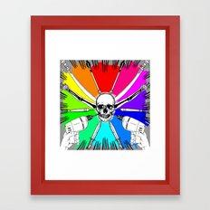 ColorWheel Framed Art Print