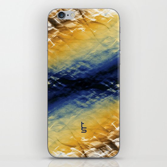 Tie-Dyed Waves iPhone & iPod Skin