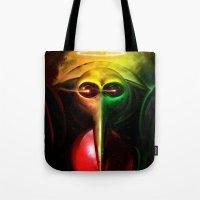 Sachiel the Risen. 3rd Angel of Evangelion Digital Painting Tote Bag