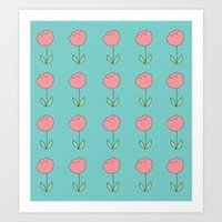 Color Me Pink With Sprin… Art Print