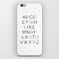 Craft Font iPhone & iPod Skin