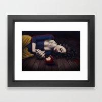 Poisoned Apple Framed Art Print