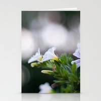 Party Flowers Stationery Cards