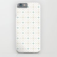 Mint Diamonds iPhone 6 Slim Case