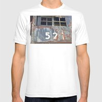 Iron Horse Mens Fitted Tee White SMALL