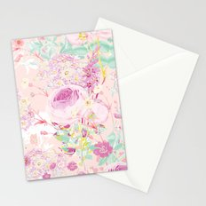 Flower bouquet in pink Stationery Cards
