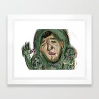 13 Framed Art Print