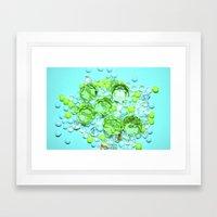 Six Framed Art Print
