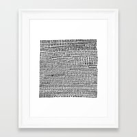 Strands Framed Art Print