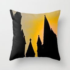 Steeple Sunrise Throw Pillow