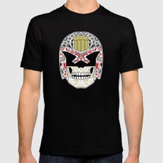 Day of the Dredd - Black Variant SMALL Mens Fitted Tee Black