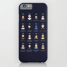 The Faces of Robin Williams Slim Case iPhone 6s