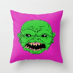 16 bit ghoulie Throw Pillow