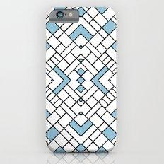PS Grid 45 Sky Blue Slim Case iPhone 6s