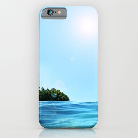The Happy Isle iPhone & iPod Case