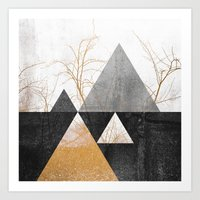 Branches / 1 Art Print