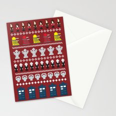 Doctor Who - Time of The Doctor - 8 bit Christmas Special Stationery Cards