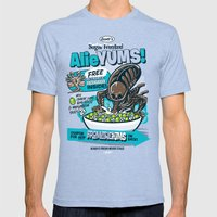 AlieYUMS! (orange Varian… Mens Fitted Tee Tri-Blue SMALL