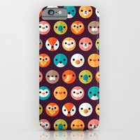 dog iPhone & iPod Cases featuring SMILEY FACES 1 by Daisy Beatrice