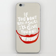 Have a smile! iPhone & iPod Skin