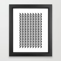 Army Of Eyes Framed Art Print
