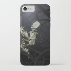 Praying to the Lord of the Universe iPhone 7 Slim Case