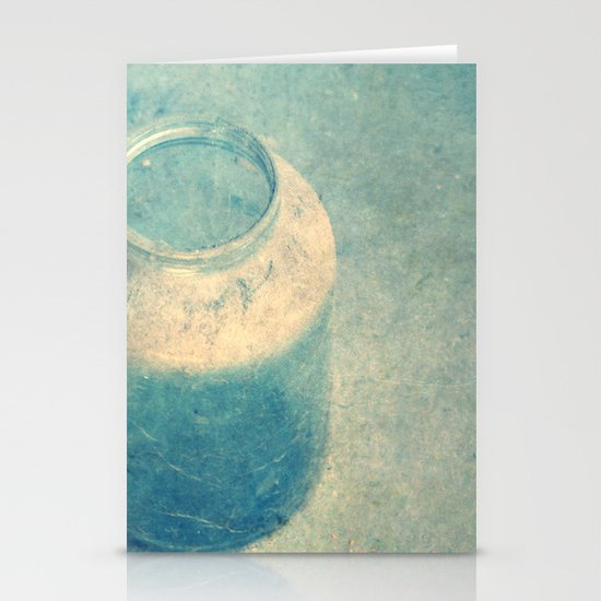 old glass Stationery Card